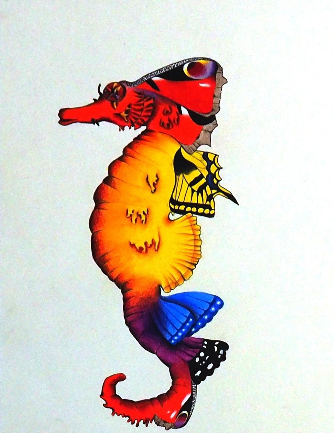 Seepferdchen Zeichnung