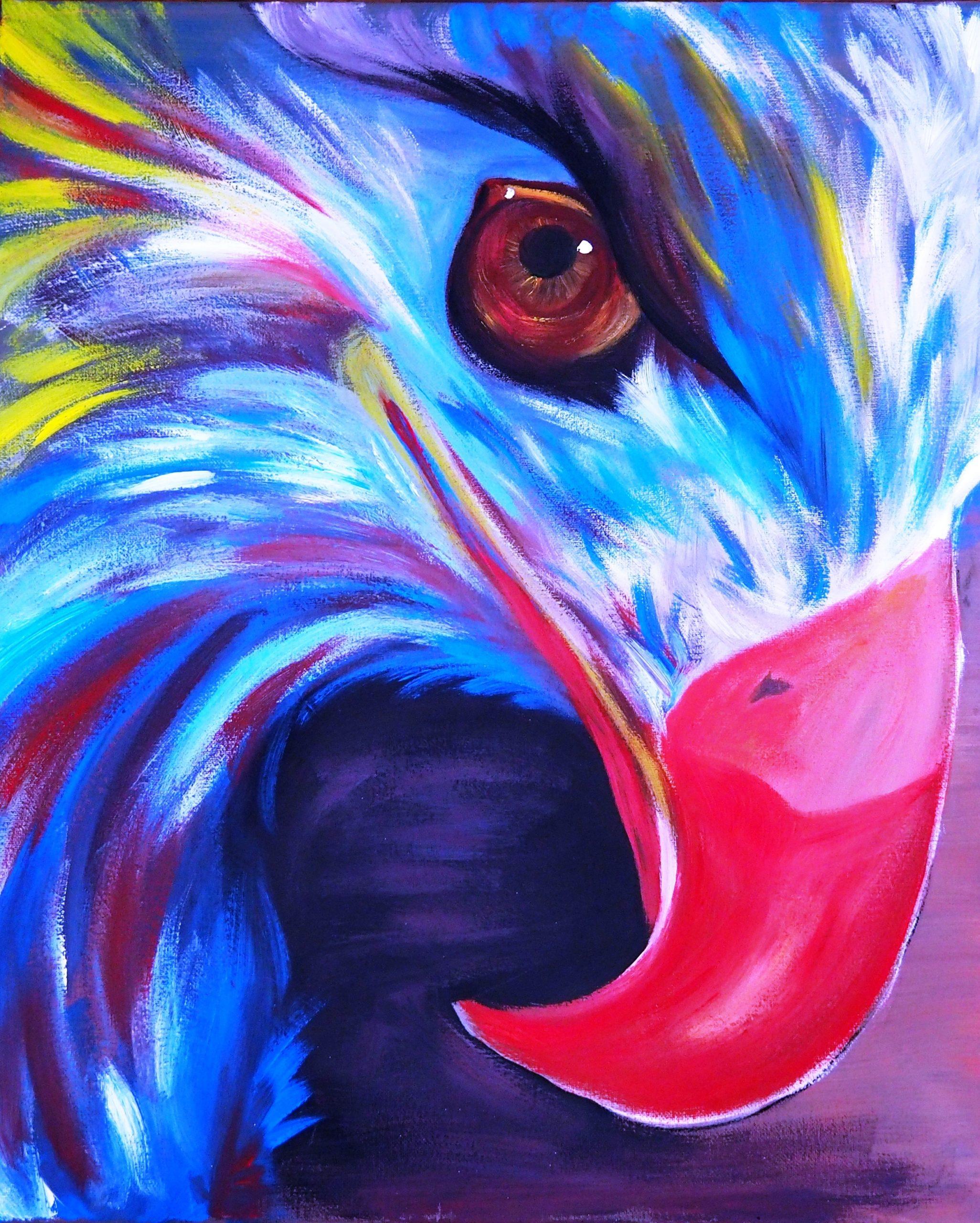 Adler Zeichnung